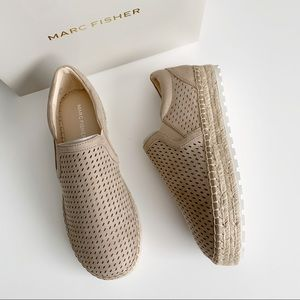 Marc Fisher | Suede Slip On Espadrille Flats